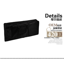 Black 61 Keys Keyboard Bag 600D Nylon Oxford 5mm Thick Waterproof Double Straps Side Handle Soft Case Free Shipping