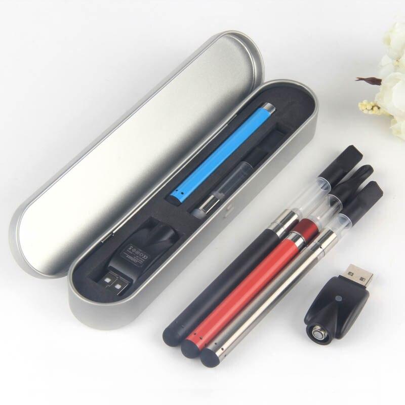 EvaFun CE3 CBD Penna Vape Kit con 280 mAh O Penna Germoglio Batteria CE3 Olio Denso Cartuccia Atomizzatore Vaporizzatore E sigarette