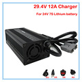 360W 24V 12A Charger Output 29.4V 12A li-ion battery charger 24V Battery charger Anderson Port For 7S 24V lithium battery