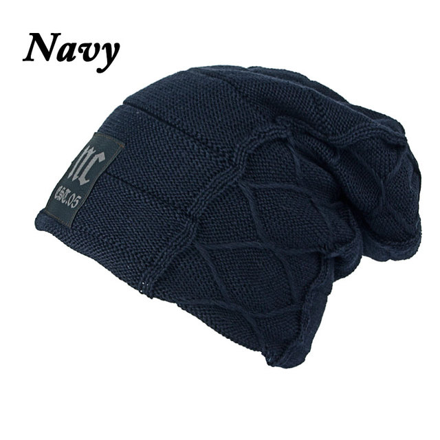 Joymay Unisex Womens Mens S Camping Hat Winter Beanie Baggy Warm Wool Cap Hot WM046