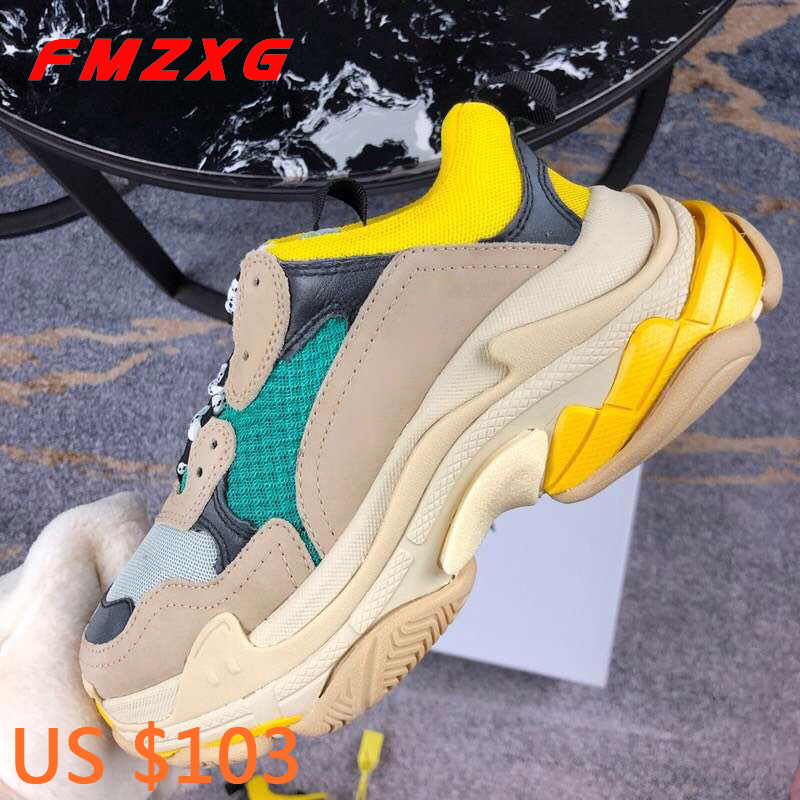 Designers Luxury Brand Women Shoes Genuine Leather Super Qualit Fashion Casual Flat Platform Sneakers Spring Autumn