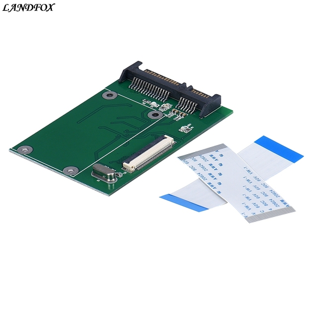 NEW Big promotion Portable 40 Pin ZIF/ CE 1.8 Inch SSD/HDD To SATA Male Adapter Converter Board Drop shipping
