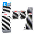 No Drill Free Punch Pedals Aluminum Fuel Brake Pedal  MT For BMW 1 3 Series E46 E90 E91 E92 E93 E87 E88 Replacement