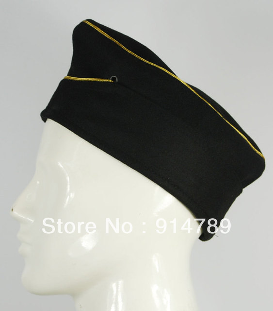WWII GERMAN WH WEHRMACHT MARSHAL PANZER WOOL GARRISON CAP IN SIZES -33069