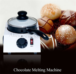 New Chocolate Melting Machine Handmade Soap Wax Butter Melter Non-stick Pot Adjustable Thermostat Commercial Use