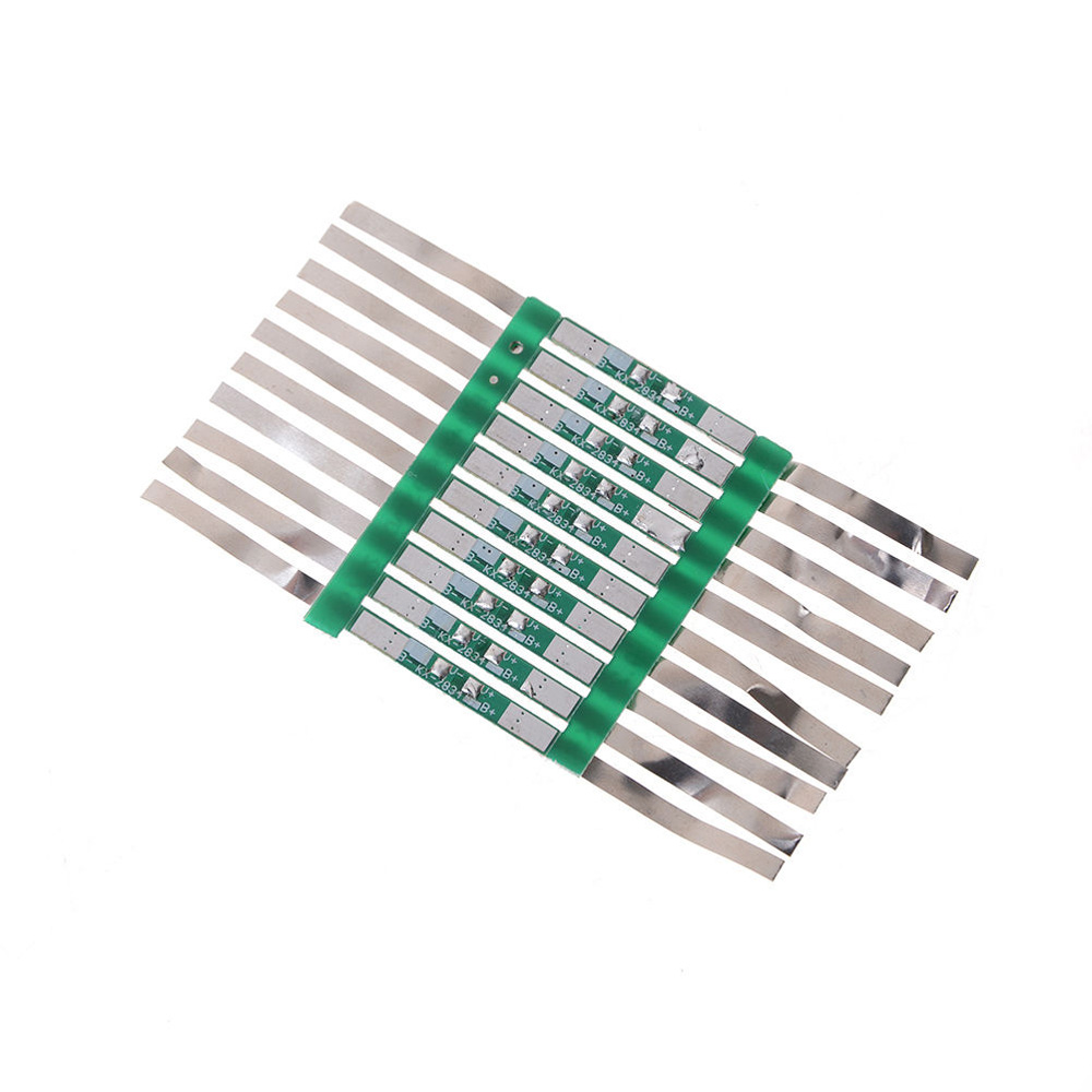 Lithium Protection Battery Board Solder JB Universal Professional 10pcs 3A For 3.7V 18650 Li-ion Nice Hot Sale