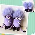 3D Minion Despicable Me 2 Minions 30 cm 2 unids/set esbirros de peluche grande diablo del Animal relleno PP algodón juguetes blandos Brinquedos envío gratis