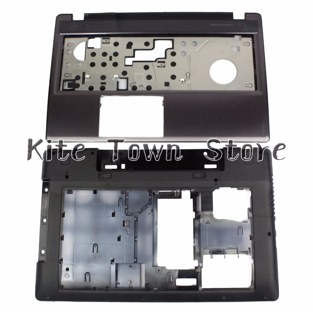 New Palmrest Case & Bottom Case Cover Without Touchpad Combo For Lenovo IdeaPad Z580 Z585 Series 3ALZ3BALV00