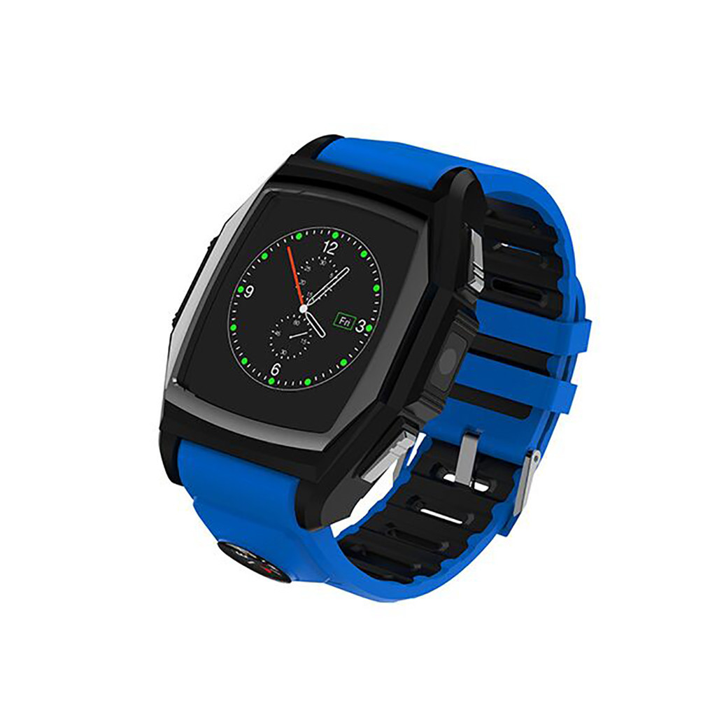 Bluetooth Smart Watch Sports Phone Watch Heart Rate SOS GPS Call Reminder Sleep Sports Monitor Anti-lost Camera for Android IO