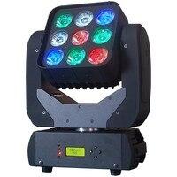 8 шт./лот led dmx этапе Освещение RGBW 4in1 матрица света луч света этапа Коммерческое освещение для DJ