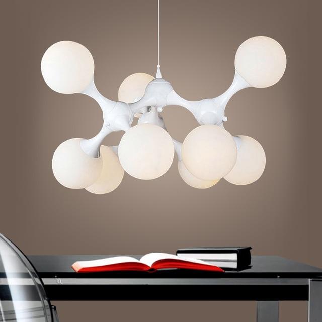 3/6//9 lampen cluster molekulare dna fashion minimalismus ... - Pendelleuchten Für Wohnzimmer