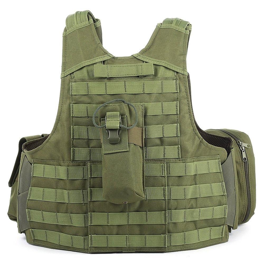 Gilet tactique de chasse avec beaucoup de poches militaire Molle - Sportswear et accessoires - Photo 3