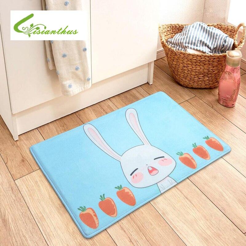 Easter Egg Rabbit Home Bedroom Carpet