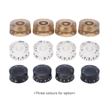 4pcs Guitar Knobs Speed Control Volume Tone for Guitar Guitarra Replacement Electric Guitar Accessories