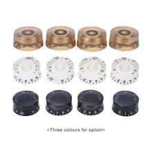 4pcs Guitar Knobs Speed Control Volume Tone for Guitar Guitarra Replacement Electric Guitar Accessories(China)