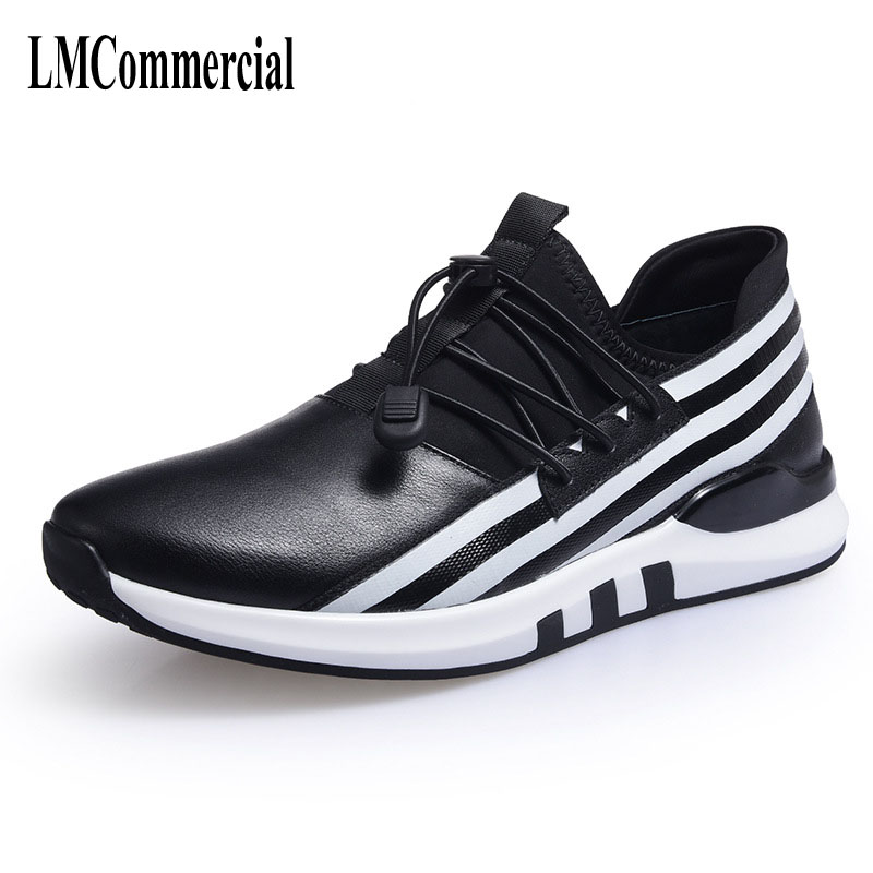 Men's spring 2017 new shoes men's shoes all-match British male leather youth sports shoes 2017 new spring