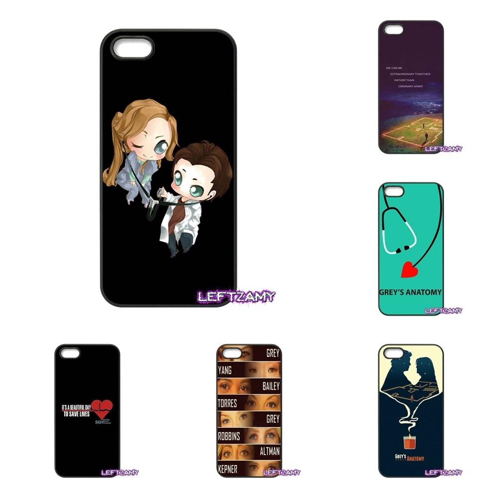 Famous Cartoon Greys Anatomy Hard Phone Case Cover For LG L Prime G2 G3 G4 G5 G6 L70 L90 K4 K8 K10 V20 2017 Nexus 4 5 6 6P 5X
