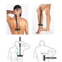 XPREEN High Quality Adjustable Stretchable Back Shavers For Men Back Hair Trimmer Back Razor