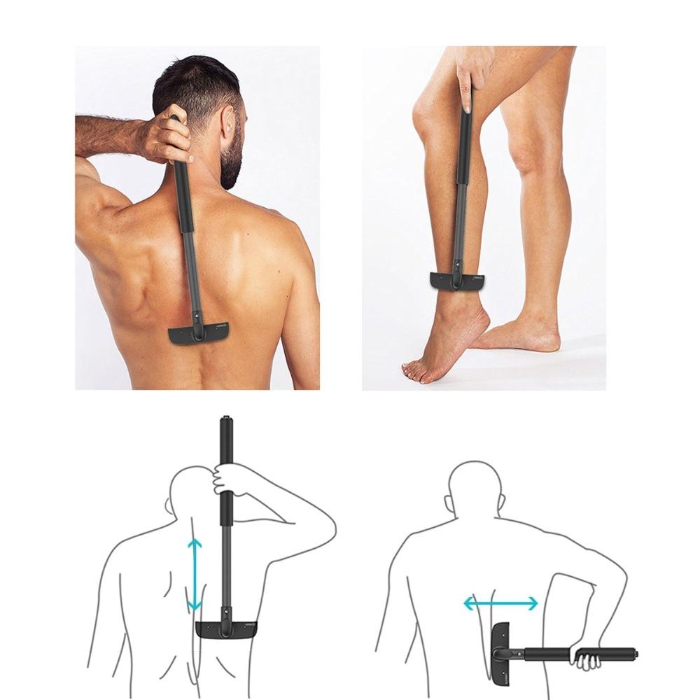 XPREEN High-quality Adjustable Stretchable Back Shavers for Men Back Hair Trimmer Back Razor