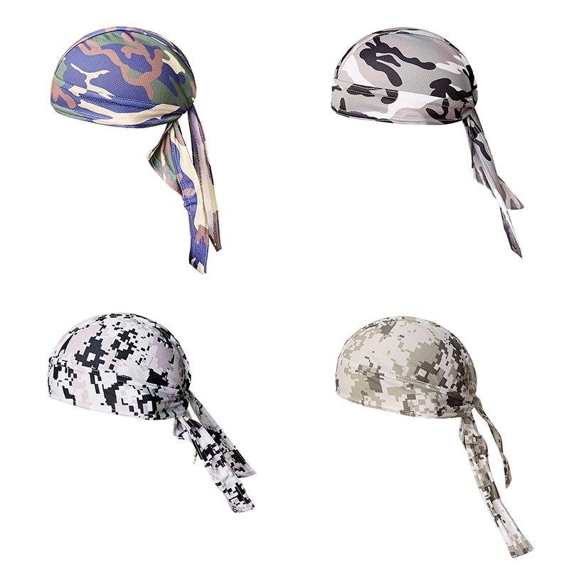Quick Dry Cycling Cap Head Scarf Helmet Reflective Summer Cooling Men Women Running Riding Bandana Headscarf Pirate Hat