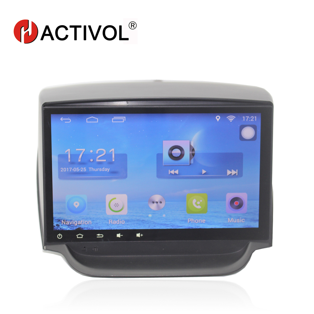 HACTIVOL 9 Quad core car radio gps navigation for 2013 2017 Ford Ecosport android 7 0