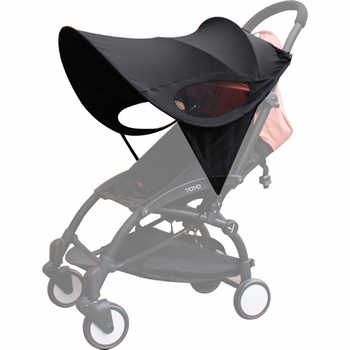 Universal Baby Stroller Accessories Sun shade Sun Visor Canopy Cover UV Resistant Hat fit Babyzenes Yoyo Yoya+ Pushchair Pram - DISCOUNT ITEM  33% OFF All Category