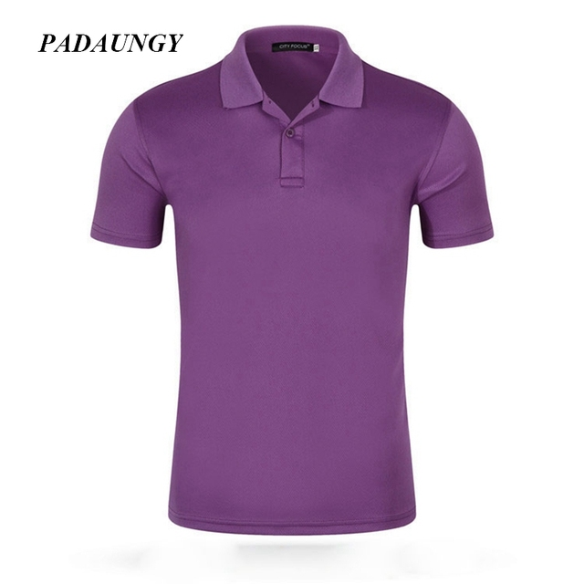0eaaa44bfc2c1 PADAUNGY Cotton Summer Tops Masculina Polo Masculina Camisa Exercise Tee  Shirt Masculinas Solid Vetement Homme Men s