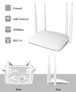 Image 5 - 300mbps QCA9531 Router Wireless Ad Alta Potenza AP WIFI Segnale Forte Supporto Firewall VPN QoS DHCP Con Porta USB 4 * 3dbi antenna