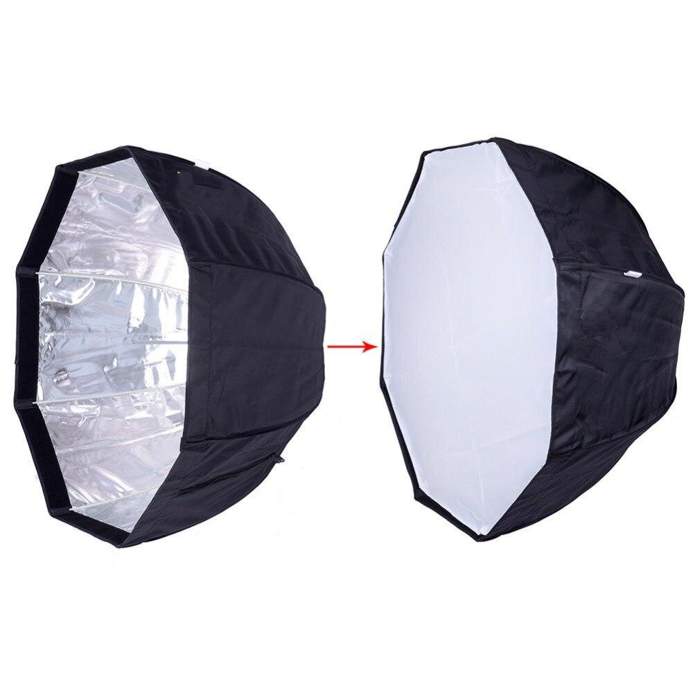 Octagon Umbrella Speedlite Softbox: Umbrella Octagon Softbox Brolly Reflector Speedlite 80