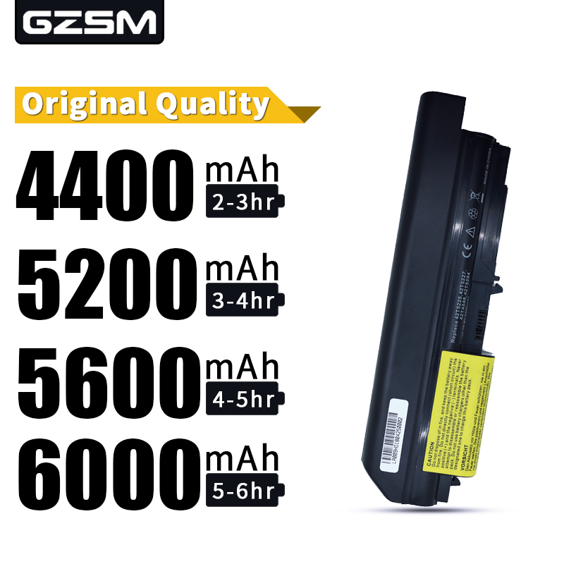 Hsw bateria do portátil para ibm lenovo thinkpad t61 bateria recarregável portátil para t61p r61 r61i t61u r400 t400 bateria portátil