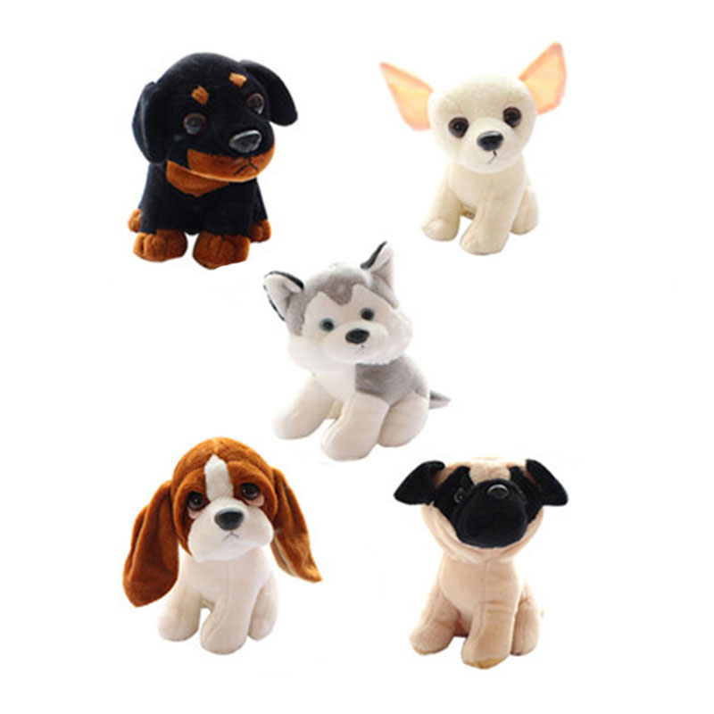 (1 Piece) 18CM Small Cute Dogs Plush Simulation Animals Stuffed Toys for Children Kids Gifts Puppy Pet Toy Basset Shar-pei pug мужские трусы спанч боб купить в москве