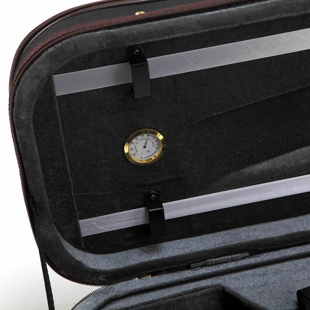 Black Oxford Rectangle Violin Case