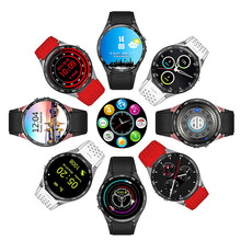 Android smart watch sports health monitoring male  GPS watch wearable device smart watch heart rate monitor