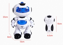Toy RC Robots Walking and English Speaking