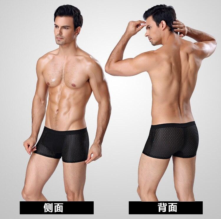 Oil Painting Fuji Boxer Briefs Mens Underwear Pack Seamless Comfort Soft