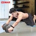 DMAR Sport Bauch Rad Muscle Trainer Gym Ab Roller Mit Matte Presse Für Übung Fitness Maschine Workout Bauch Core Trainer-in Ab Rollen aus Sport und Unterhaltung bei