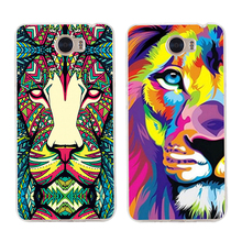 Forest animal graphic Phone case Animals For Huawei Y5 2017 Y6 II Pro Y7 Nova 2 P10 Plus P8 P9 Honor 9 6A Mate 10 Pro p10 lite silicon case for huawei y6 2018 y7 prime p8 lite 2017 nova 2 plus case cover huawei p10 lite honor 6a 6c pro case ring cover