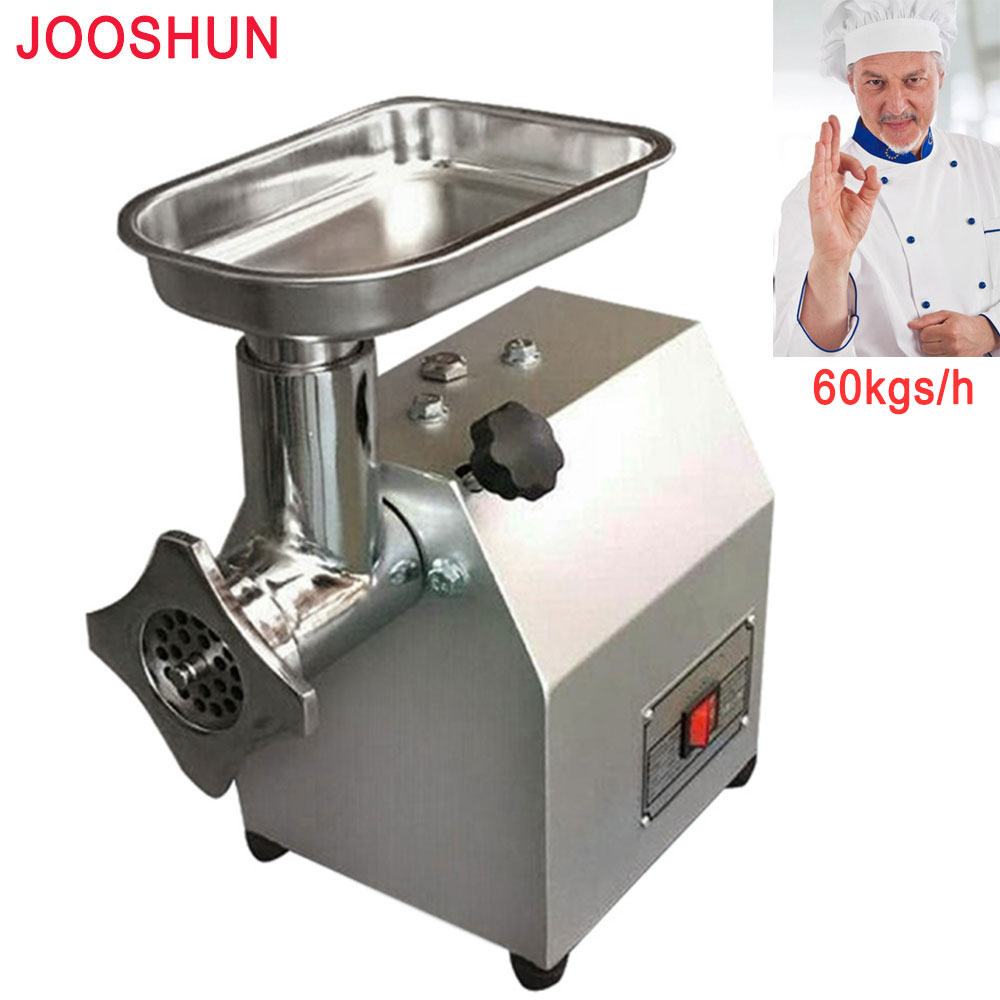 Mincer Meat-Grinder Pepper Commercial/family-Use Slicer Stainless-Steel With Video Multifunctional