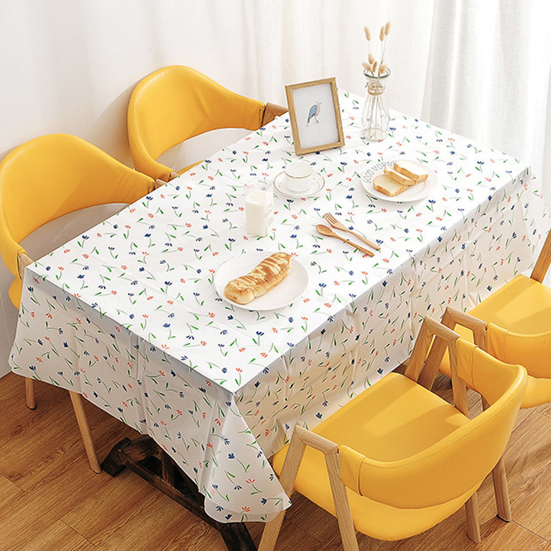 Baby Playmat Plastic Ablution Tablecloth Plastic Dining Table Mats Birthday Party Disposable Tablecloth Kids Rug Large Gym Mat