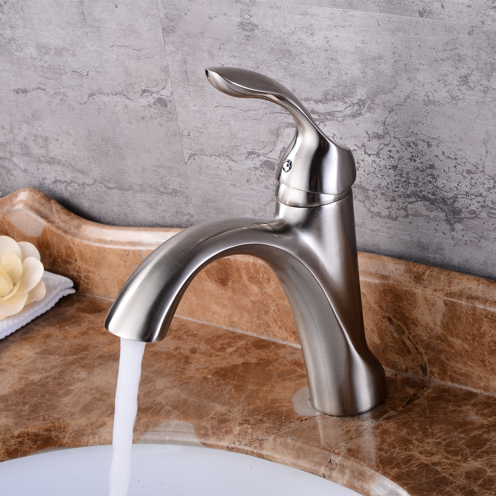 Best Bathroom Basin Sink Faucet Single Handle Kitchen Tap hot and cold water Basin Faucet Kitchen Faucet Torneiras Mci3