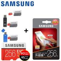 SAMSUNG Micro SD Card 128GB 64gb 32gb 256gb 100Mb S Class10 U3 Microsd Memory Card Flash