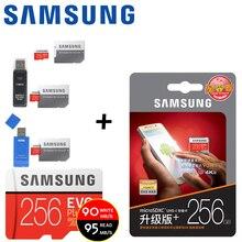 Samsung Micro SD карты 128 ГБ 64 ГБ 32 ГБ 256 ГБ 100 МБ/с. Class10 U3 MicroSD карта флэш-памяти карты памяти для телефона с мини SDHC SDXC