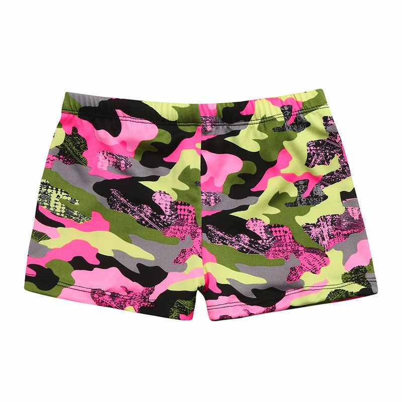 Anak-anak Bayi Laki-laki Pantai Peregangan Baju Renang Pakaian Renang Trunks Celana Pendek Pakaian Kamuflase Bayi Baju Renang Baju Renang untuk Anak 01