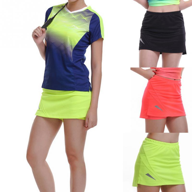 Women's Professional Sports GYM Fitness Running Yoga Jogging Shorts Women Tennis Shorts Skirt Anti Exposure Tennis Skirt Shorts skirt olimara skirt