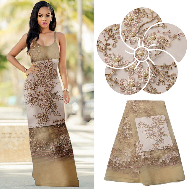9746ba28c96 Nigerian Lace Styles Yellow Lace Applique