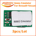 3pcs/Lot 2016 Best Price For Renault IMMO Emulator 2 in 1 For Nissan IMMO Emulator for Renault/For Nissan Free Shipping