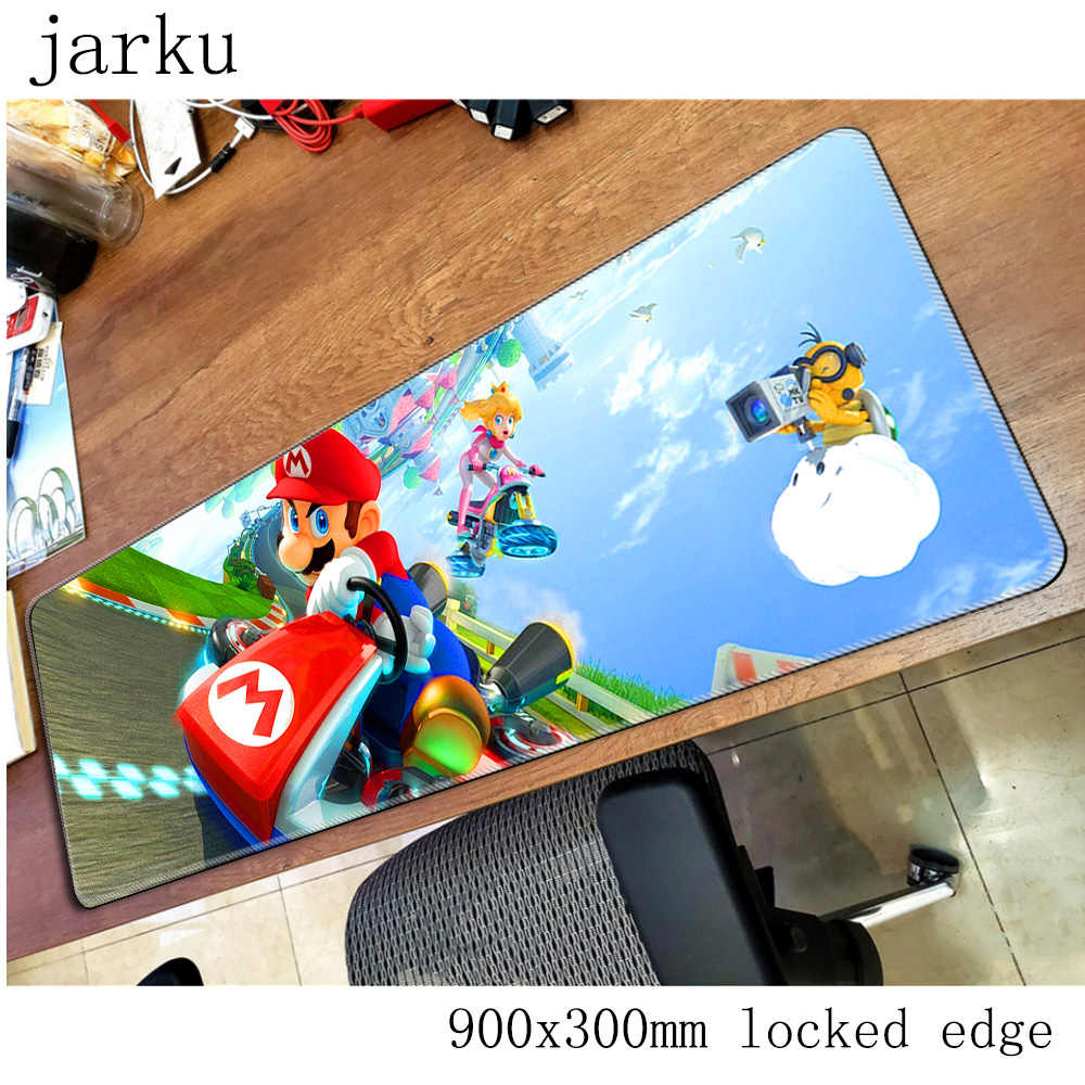 mario mouse pad gamer 900x300mm notbook mouse mat large gaming mousepad High-end pad mouse PC desk padmouse accessories