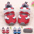 Calidad estupenda 1 pair Primeros Caminante antideslizante Zapatos de Goma Al Aire Libre, Exportados Europa Calle suave, zapatos del Niño/Toddle Zapatos
