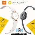 Original xiaomi Amazfit Moon Frost Equator smart bracelet xiaomi mi band 10 Days Using Sleep Remind 90 Mins wireless charging