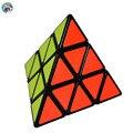 Shengshou Pyraminx Pirámide Cubo Mágico Velocidad 3x3x3 Torcedura Puzzle Forma de Triángulo Torcedura Puzzle Juguetes Para Niños kid